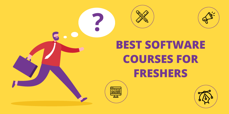 Best Software courses for Freshers in 2020