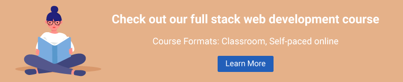 Full Stack Web Developer course