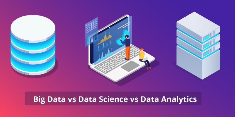 Big Data vs Data Analytics vs Data Science