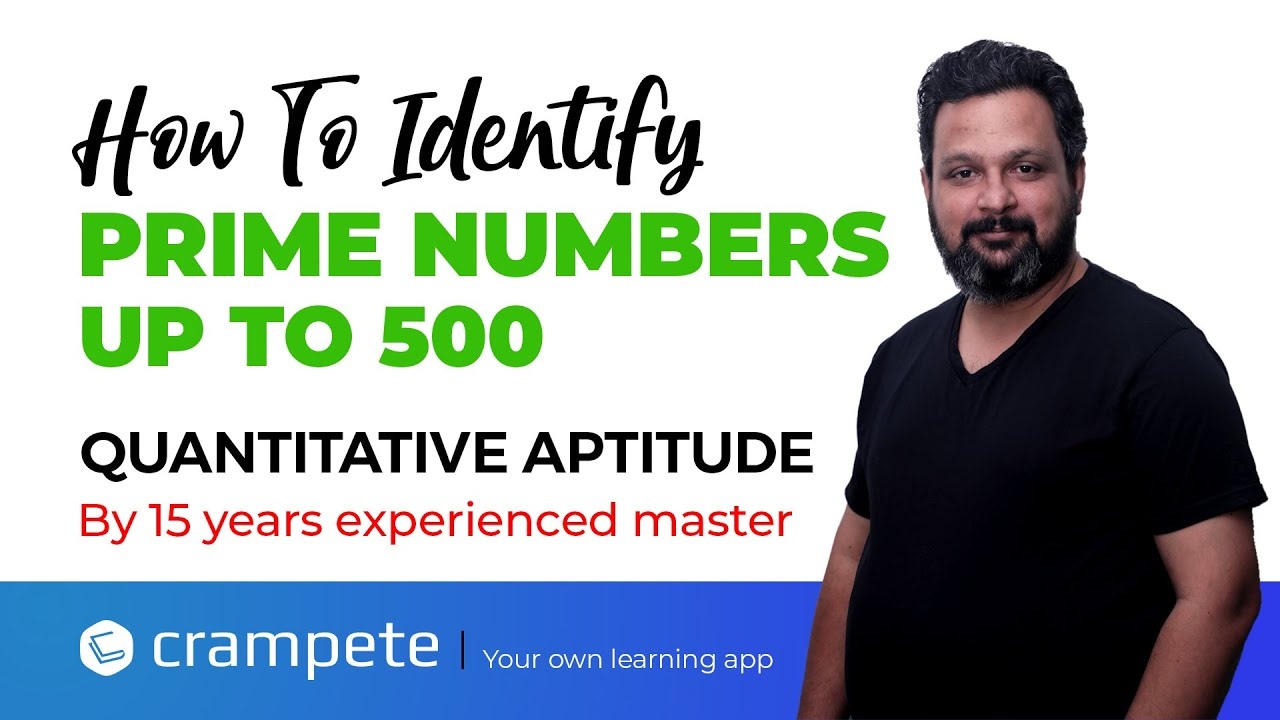 How To Identify Prime Numbers Up to 500